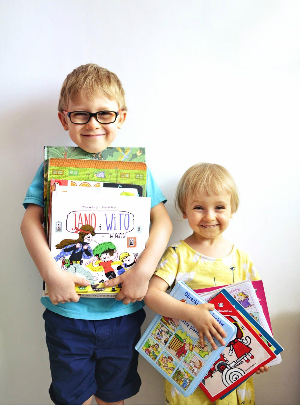 Biblioteczka Pani Sowy (cz. 3): ulubione książki moich dzieci 📚 (niełatwy wybór z wielu 🙃)