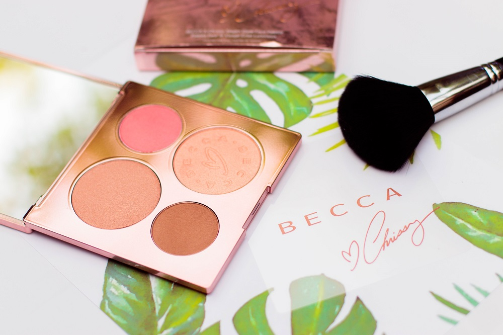 Pauuulette BECCA X Chrissy Glow Face Palette