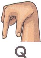 Bahasa Isyarat Q
