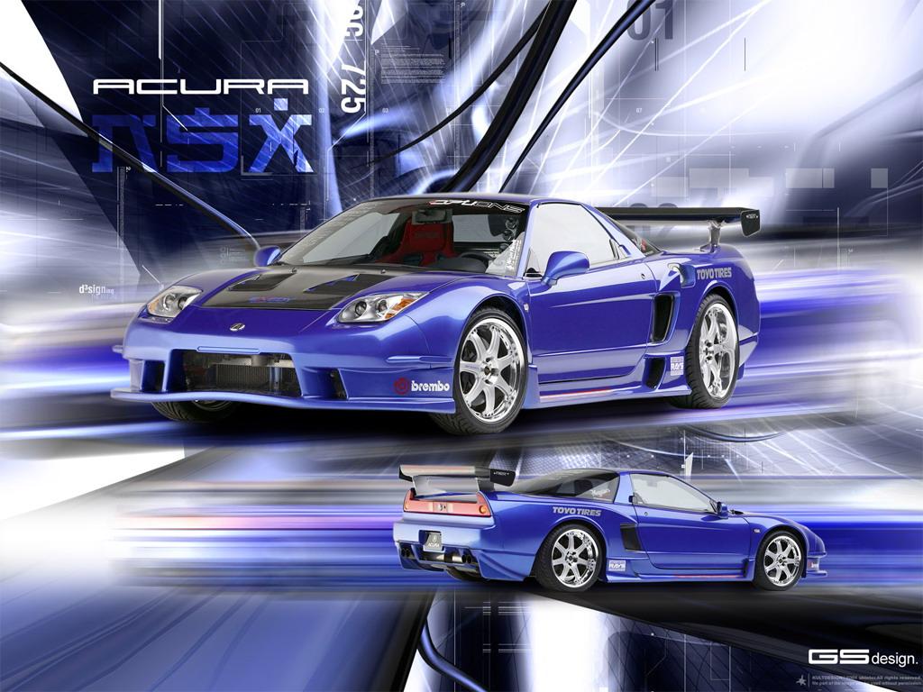 acura nsx sports car