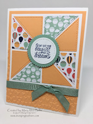 Stampin' Up! Designer Tee Card created by Mary Alice Bellis for Stamping to Share