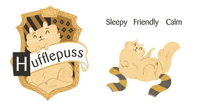 Hufflepuss crest