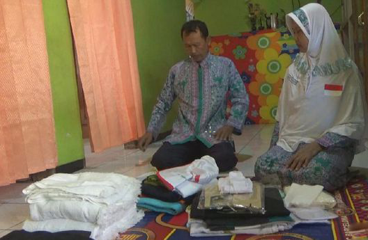 Bukti Mukjizat Ikhtiar dan Doa! Berpenghasilan Cuma 60 Ribu, Pasutri ini Bisa Berangkat Haji