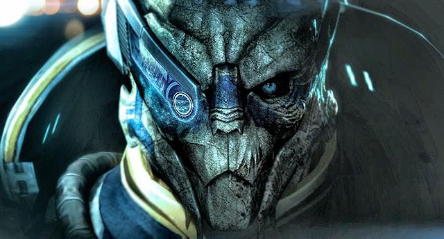 Mass Effect Гаррус Вакариан