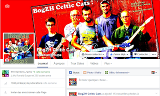 Page FB du groupe breton de rock celtique, punk folk