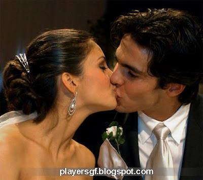 Kaka and His wife