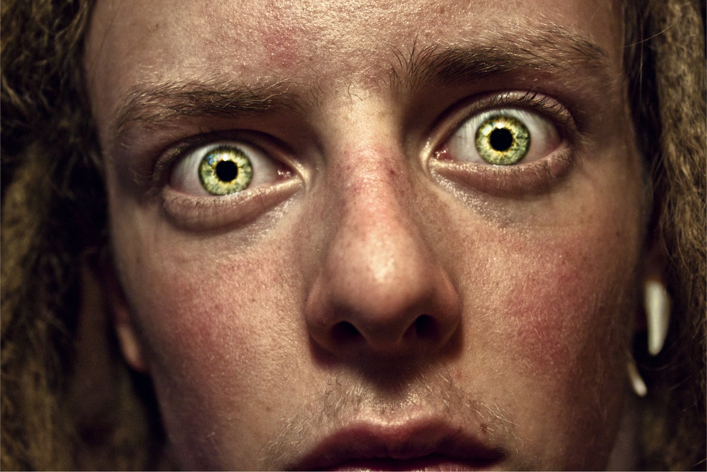 Psychopathic stare