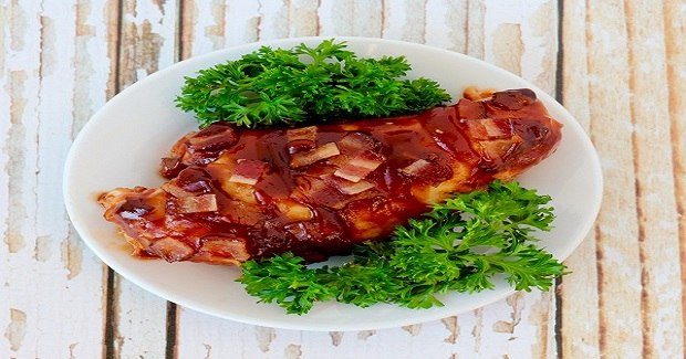 Crockpot BBQ Bacon Chicken Recipe