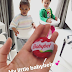 Mikel Obi's girlfriend shares cute new photos of their daughters