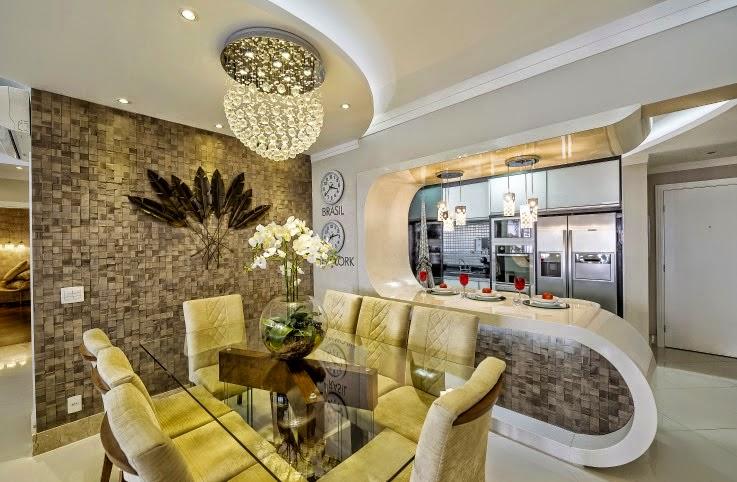 Construindo minha casa clean 21 cozinhas americanas for Modelos de apartamentos pequenos modernos