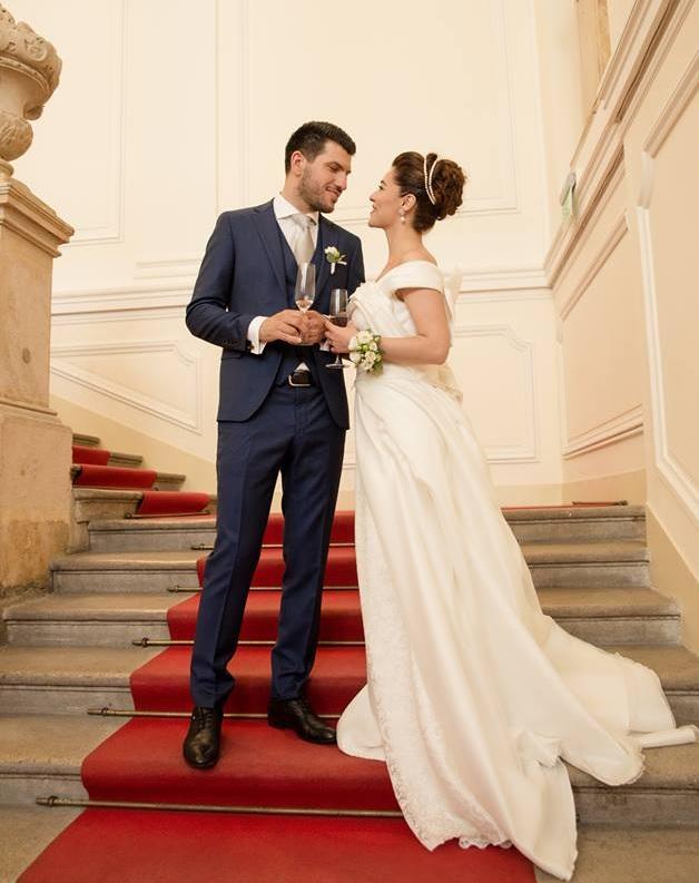 An Albanian Wedding in Palais Schönborn Batthyany of Vienna