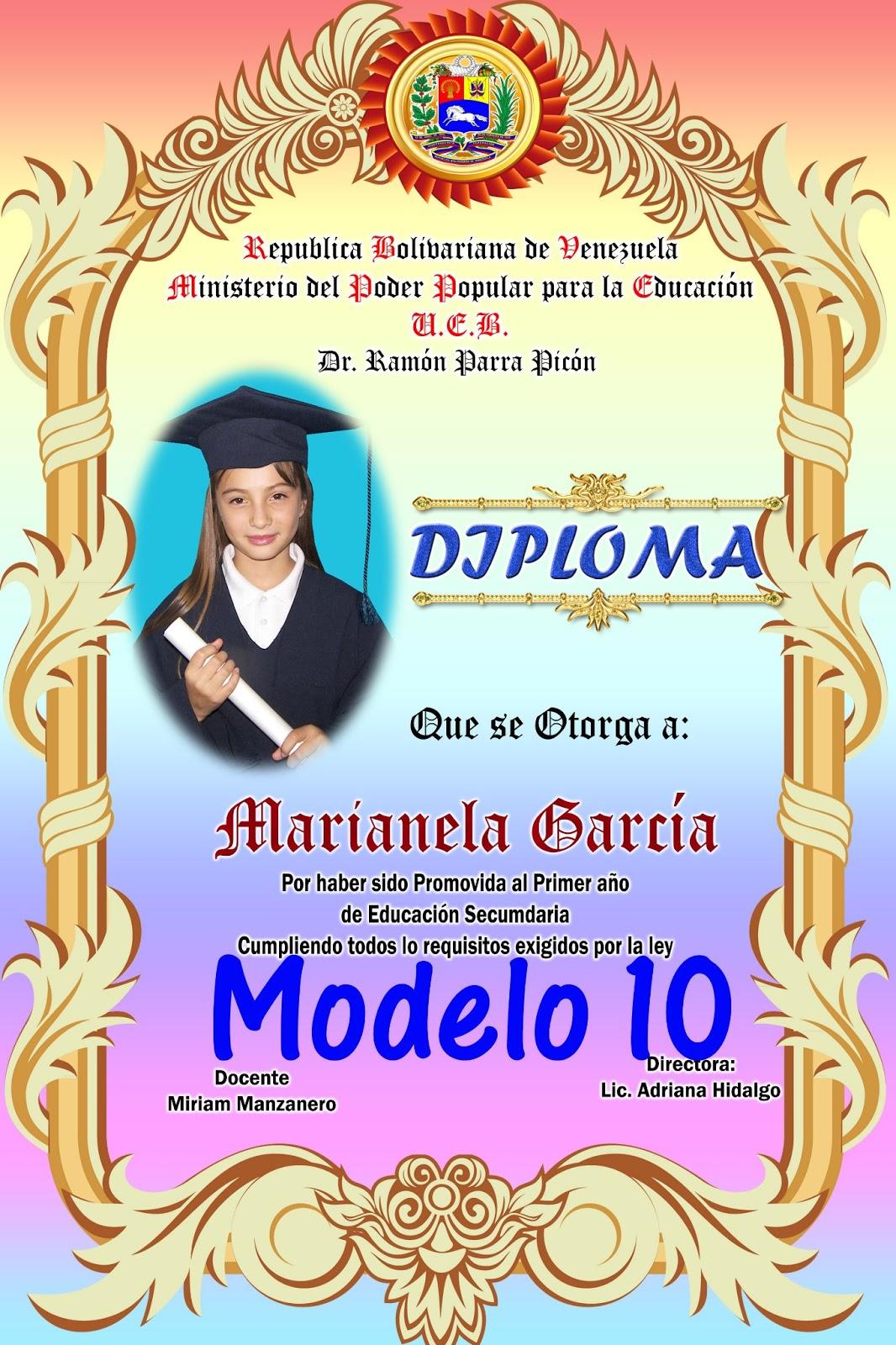 Diplomas Sexto Grado | Fotografia y Diseño