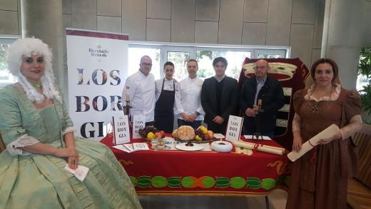 Colomer ha presentado un recetario inspirado en los Borgia 'donde se une la tradición con la vanguardia'