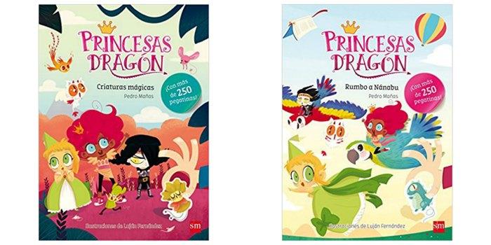 libros pegatinas niños llevar maleta verano vacaciones recomendados princesas dragón