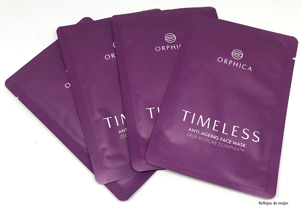 Mascarillas Timeless de Orphica-Review