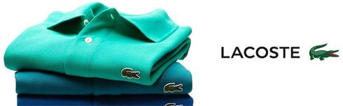 A partir do ano 2000 a LACOSTE se modernizou e ganhou um tom mais jovial,  contudo sem perder a elegância e a identidade. Suas famosas e clássicas  camisas ... 70e378ae48