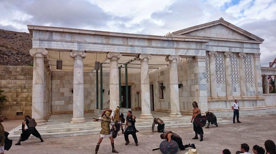 Teseo y los Titanes, Terra Mítica.