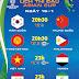 Lịch thi đấu Asian Cup 16-1 trên VTVCab