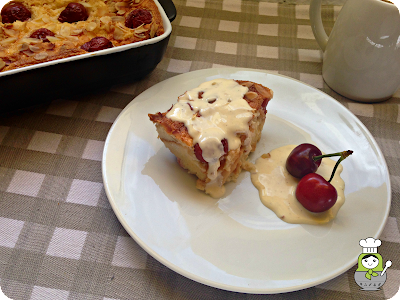 kirschenmichel o kirschenplotzer: pastel alemán de cerezas