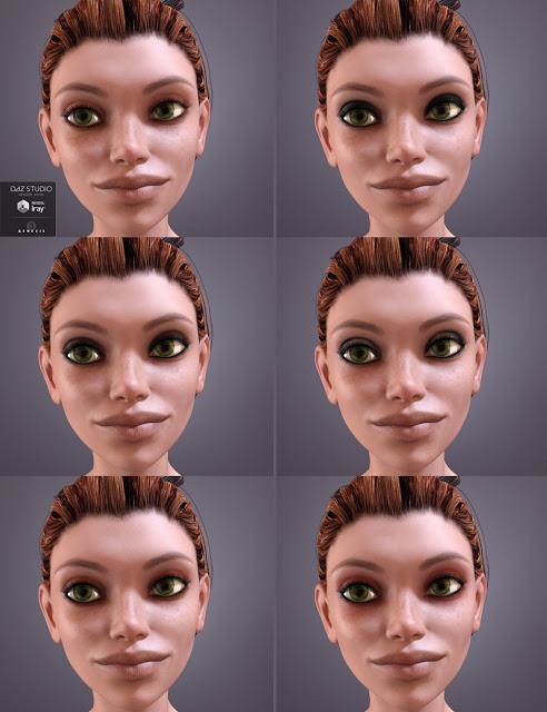 Eren for Genesis 3 Female