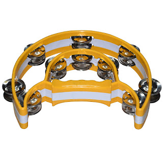 DronaCraft Tambourine Hand Percussion Musical Instrument