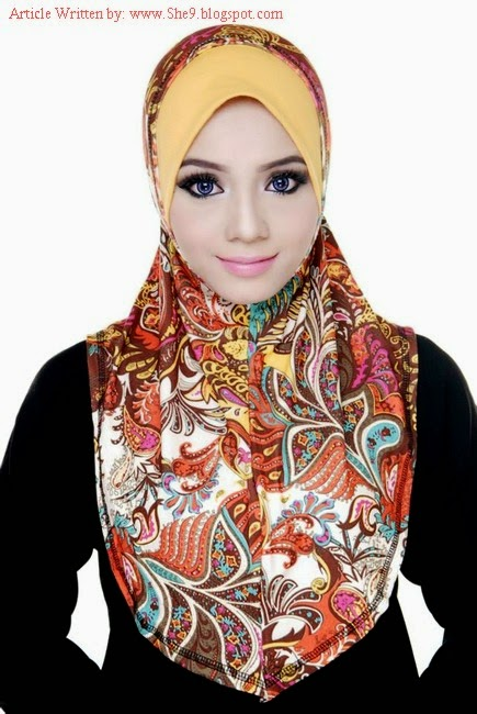 Different Contrast of Hijab