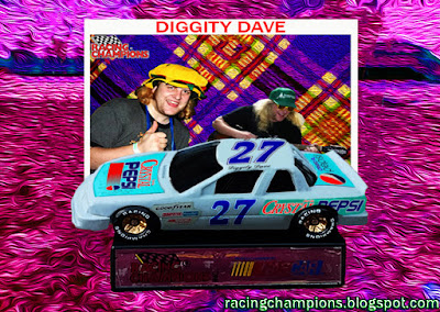 Diggity Dave #27 Crystal Pepsi Racing Champions NASCAR diecast blog 1/64 Jesco White Dance Outlaw BGN Cheap Guitar Band