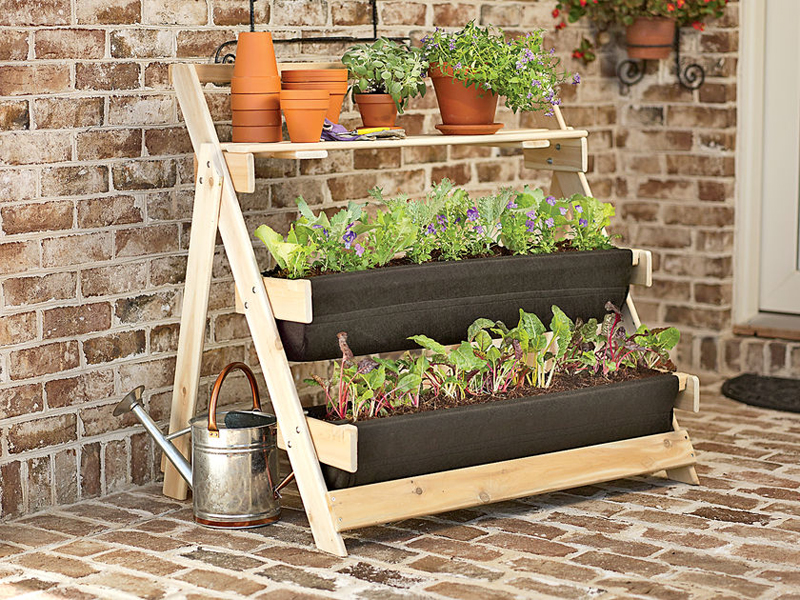 We Wanted Something Similar Plant Stands That Would Take Up Vertical E Instead Of Precious Square Footage On Our Patio