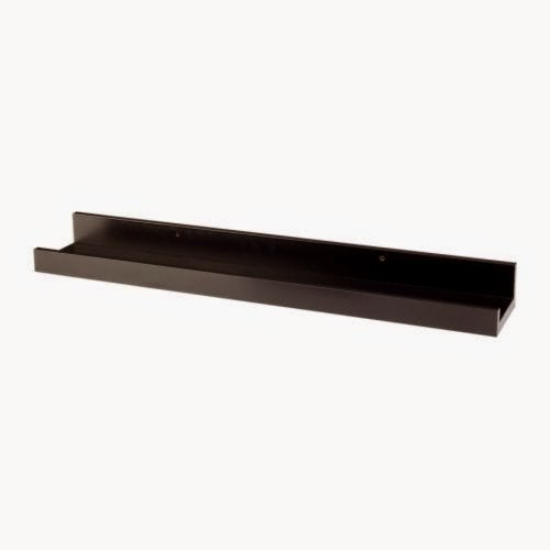 Ikea Photo Ledges: Dwellings By DeVore: Picture Ledge Gallery Wall