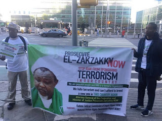 Shiites: Nigerians in the US Protest, want El- Zakzakky prosecuted