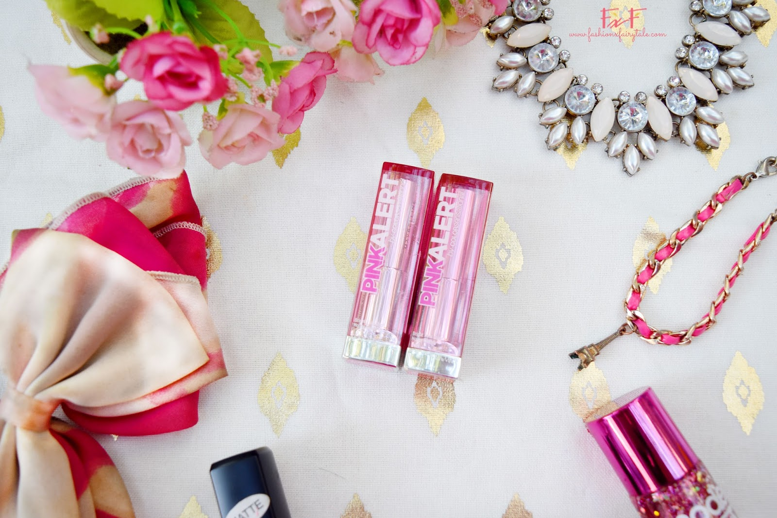 Maybelline Color Sensational Pink Alert Lipstick in POW3 & POW4 | Review & Swatches