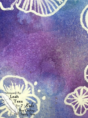 3 x 6 Art Journal, Hopes and Desires, Leah Tees, 7 Kids