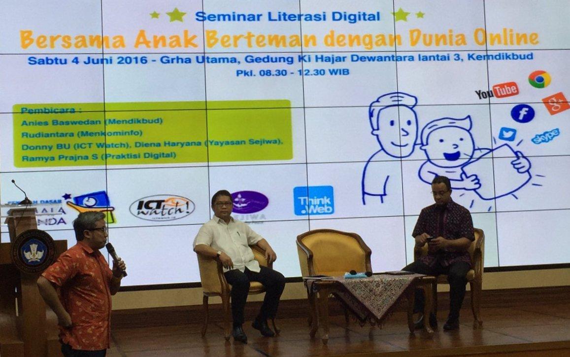 Orangtua Dan Guru Akan Dididik Dalam Penerapan Literasi Digital Pada Anak