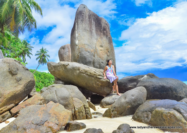 boulders in Anse Royale