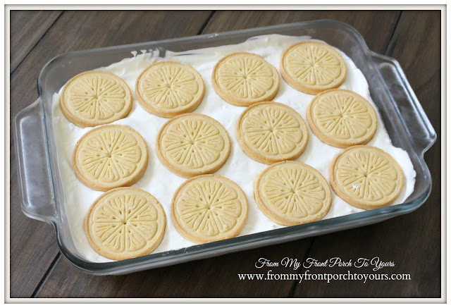 Recipe-Lemonades-Girl Scout Cookies-No Bake Lemonade Cheesecake-From My Front Porch To Yours