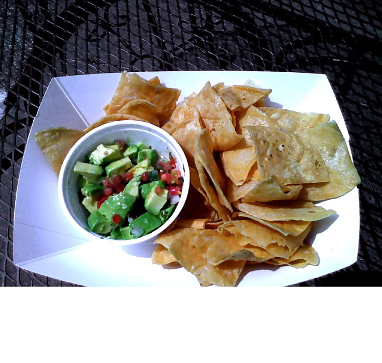 Guacamole With Chips by Las Delicias