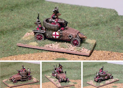 1st place: Ratsburg vehicle, by Irregular Wars - wins £20 Pendraken credit, and a copy of 'Blitzkrieg Commander'!