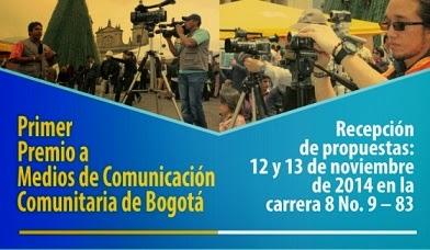 medios de comunicación comunitaria en Bogotá