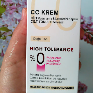 DİADERMİNE HIGH TOLERANCE  CC CREAM