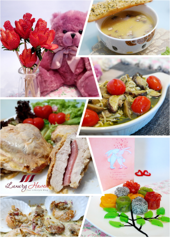 creative valentines day recipes at singapore food blog