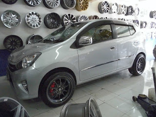 modifikasi agya silver