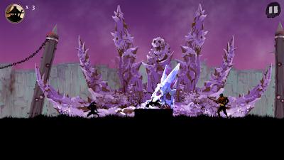 Tampilan Game Ninja Arashi