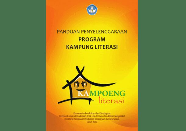 Panduan Penyelenggaraan Program Kampung Literasi