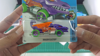 Hot Wheels Treasure Hunt Dragon Blaster