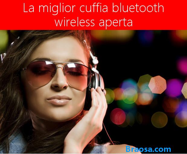 La migliore Cuffia Wireless Chiusa Bluetooth per la Musica