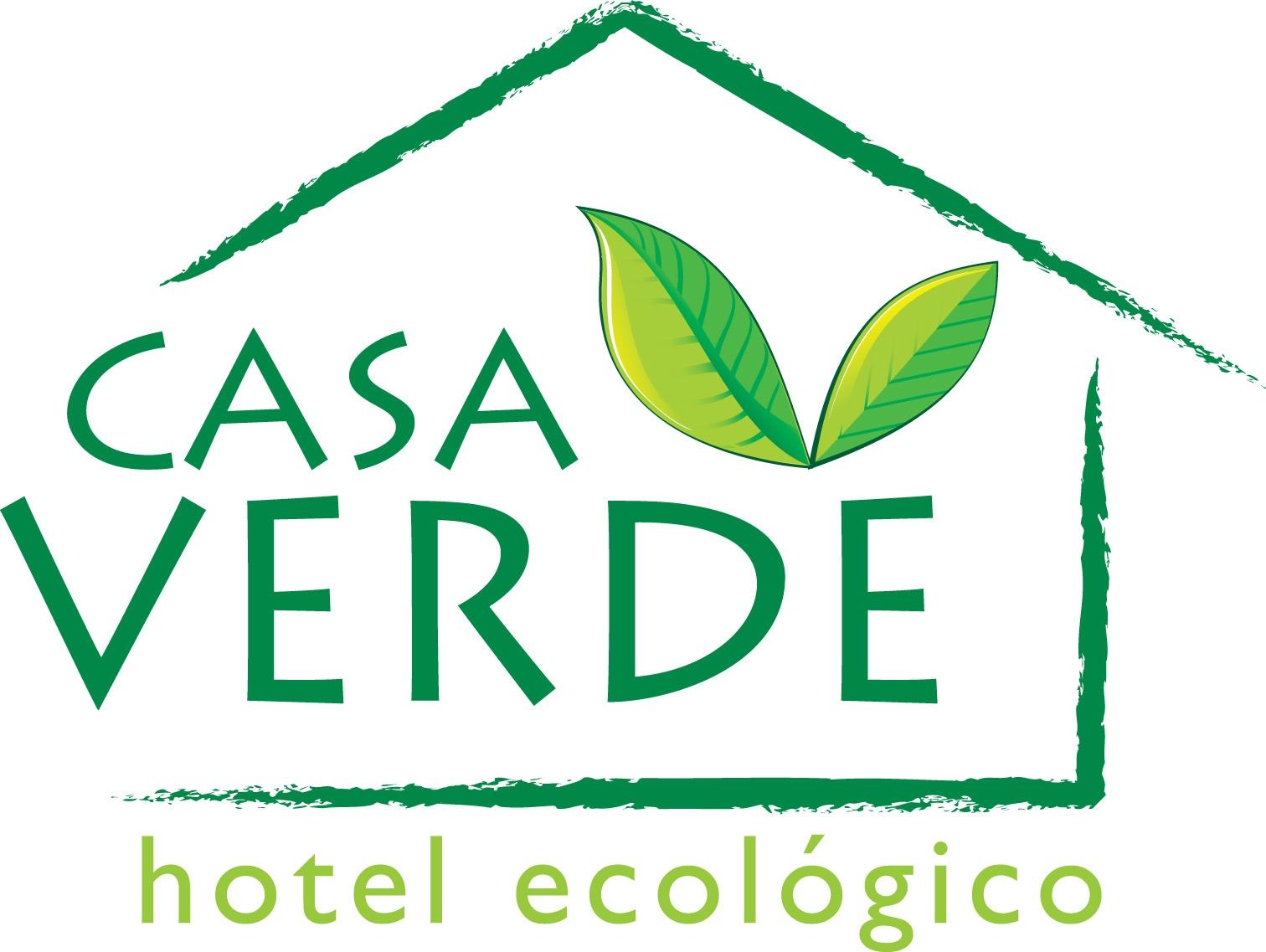 Logos casa verde hotel ecologico for Casa logo
