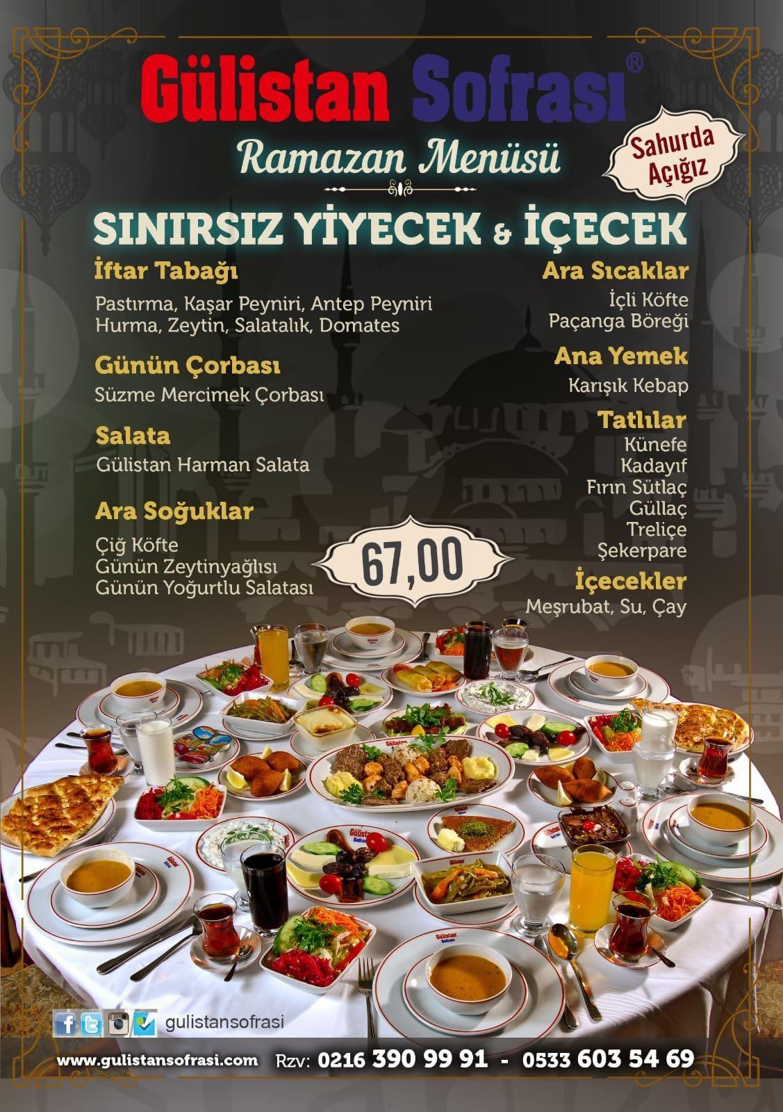 Gülistan Sofrası Cafe Restoran İstanbul pendik
