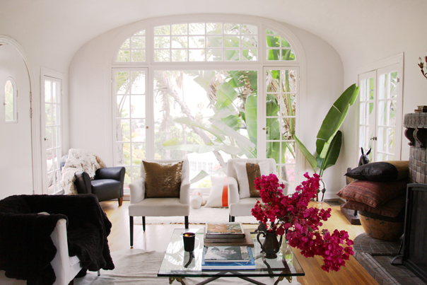 the home of fashion designer Heidi Merrick