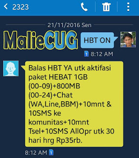 paket data cug telkomsel