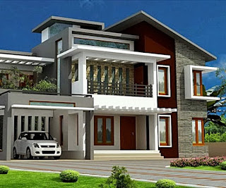 2 storey minimalist house design - Lampung interior house